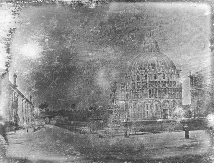 'Pisa, View from the South East angle of the Piazza del Duomo', 25 June 1841.