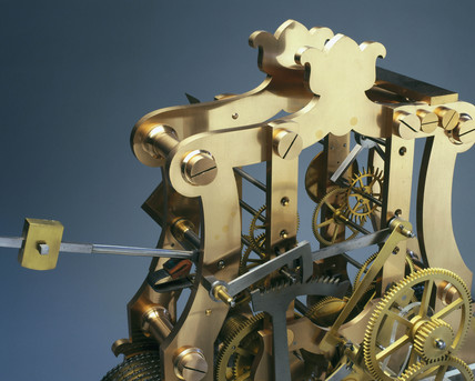 Mechanism fron a turret clock, English.