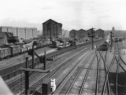 Nottingham Station, 27 March 1922.