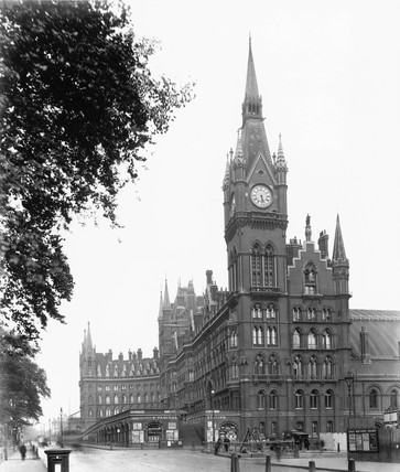 The Midland Grand Hotel at St Pancras Stati