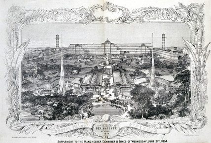 Crystal Palace, Sydenham, South London, 21 June 1854.