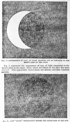 Solar eclipse, 28 July 1851.