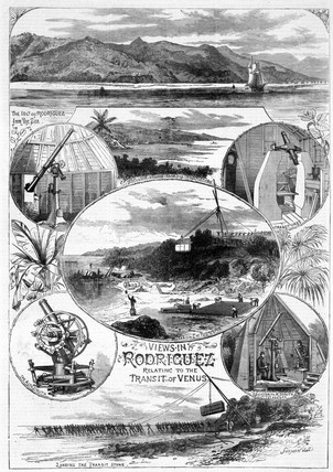 'Views in Rodriguez Relating to the Transit of Venus', 1874.