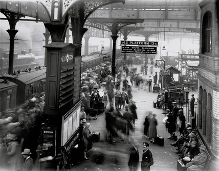 Manchester Victoria station, 27th August 1927.
