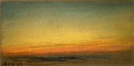 Sunset, 10 May 1884.