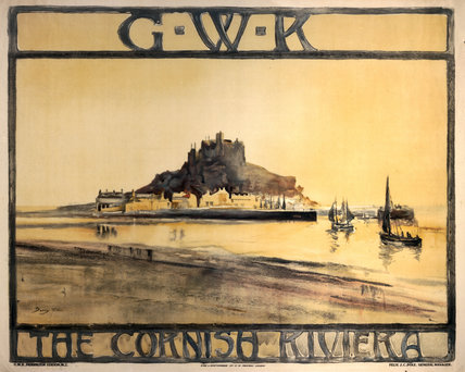 The Cornish Riviera, GWR poster, c 1925.