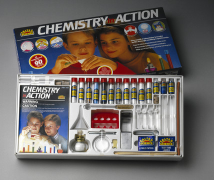 Salter Science 'Chemistry in Action' set , 1995.