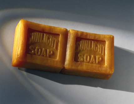 Bar of 'Sunlight' soap, c 1890-1914.