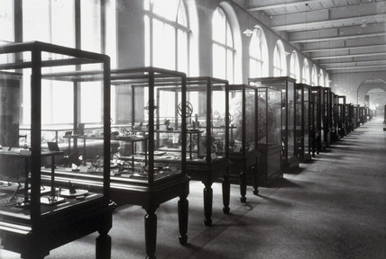 Time Gallery, Lower Western Galleries, South Kensington Museum, 1876.