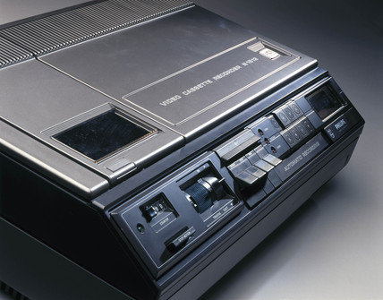 Philips video casette recorder, type N1502, c 1974.