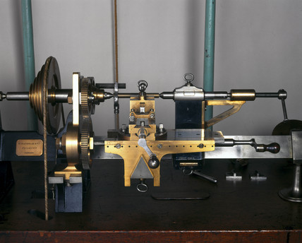 Treadle lathe, made by Henry Maudslay, c 1812-1820.