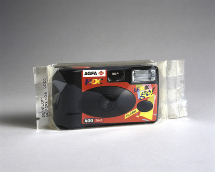 Agfa 'Le Box Go', disposable camera, 1999.