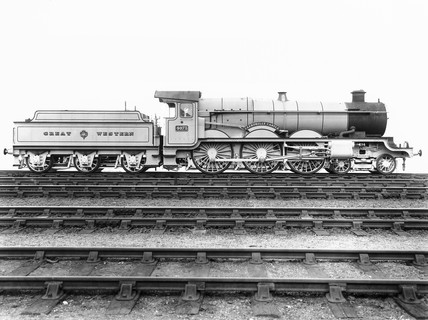 'Caerphilly Castle' at Swindon Works, 1 Apr