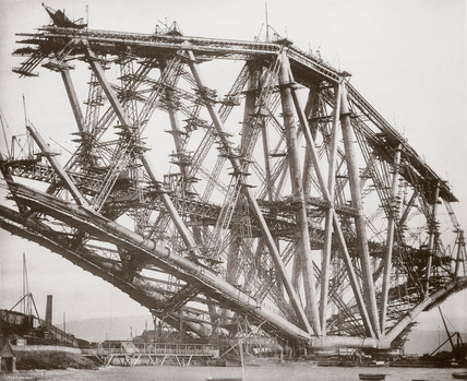 'The Fife cantilever', c 1880s.