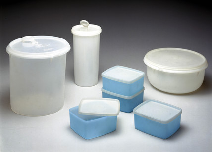 Tupperware containers, c 1984.