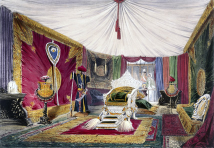 Indian No 1stand at the Great Exhibition, Crystal Palace, London, 1851.