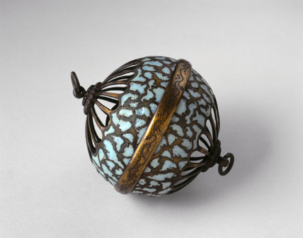 Incense burner, posibly Persian, c 1701-1850.