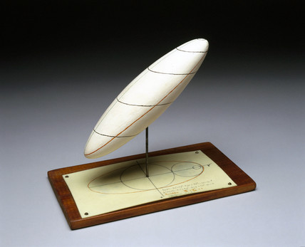 Model of an ellipsoid, c 1935.