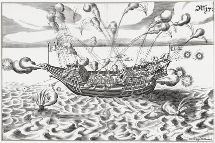 Turkish warship, 1629.