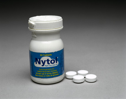 'Nytol' sleeping tablets, 2000.