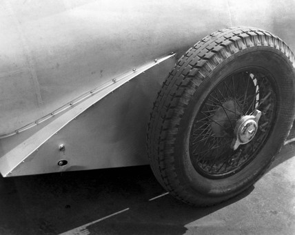 Mercedes-Benz racing car wheel, 1932.