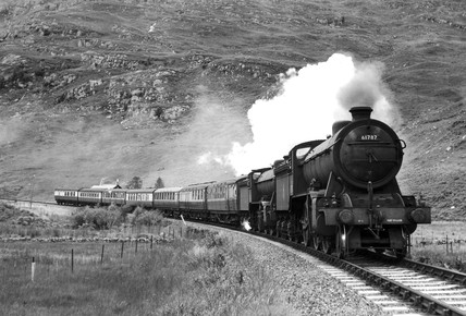 'Loch Quoich' K2 Clas steam locomotive No