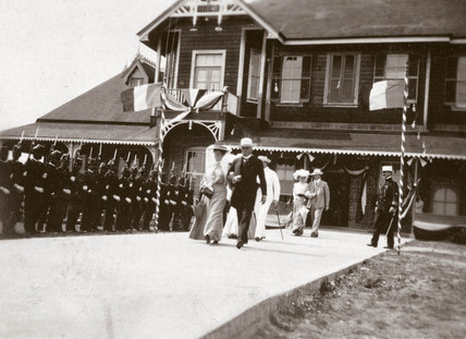 Ceremony for the President of Mexico, Isthmus of Tehuantepec, Mexico, 1905.