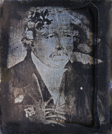 Louis Jacques Mande Daguerre, French photography pioneer, c 1840s.