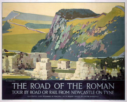 'The Road of the Roman', LNER poster, 1930.