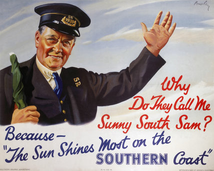 'Sunny South Sam', SR poster, 1939.