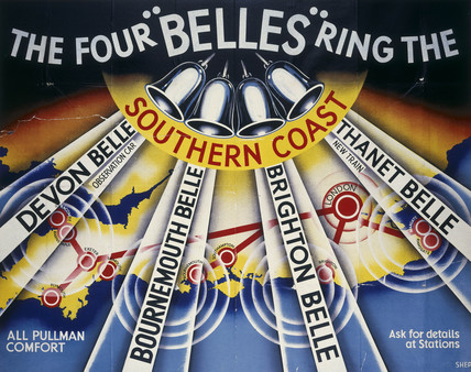'The Four Belles', SR poster, 1948.