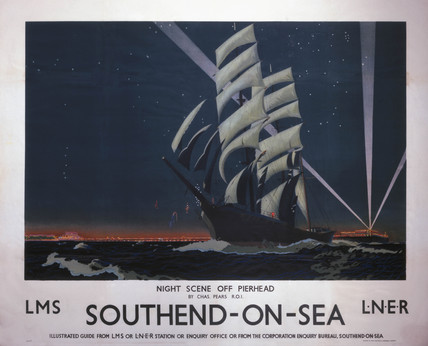 'Southend-on-Sea', LMS/LNER poster, 1930s.