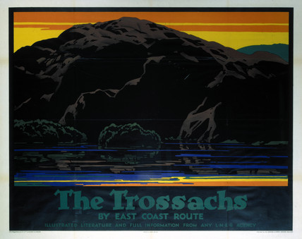 'The Trosachs', LNER poster, 1923-1947.