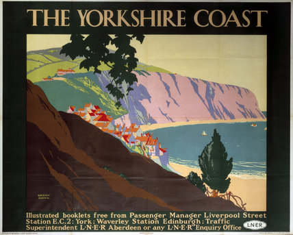 'The Yorkshire Coast', LNER poster, 1923-1947.