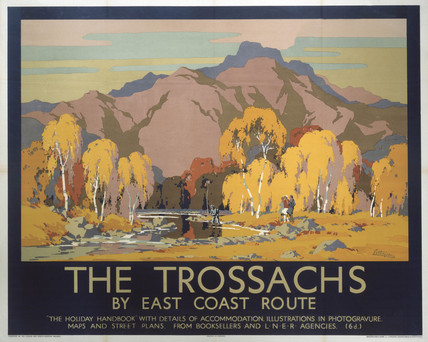 'The Trosachs', LNER poster, 1930.
