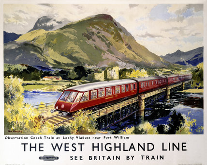 'The West Highland Line', BR poster, 1959.