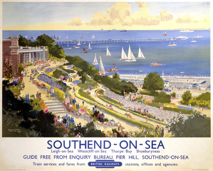 'Southend-on-Sea', BR poster, 1948-1965.