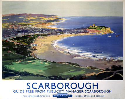'Scarborough', BR poster, 1948-1965.