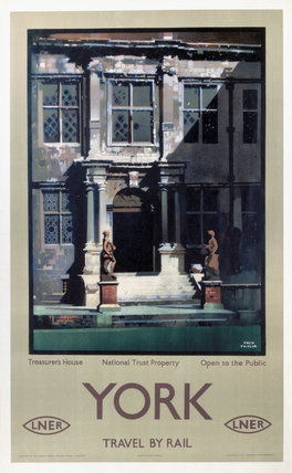 'Treasurer's House, York', LNER poster, 1923-1947.