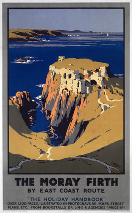 'The Moray Firth', LNER poster, 1923-1947.