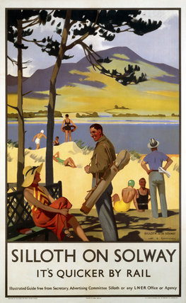 'Silloth-on-Solway', LNER poster, 1923-1947.