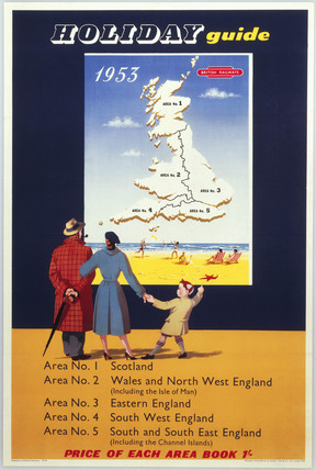 'Holiday Guide', BR poster, 1953.