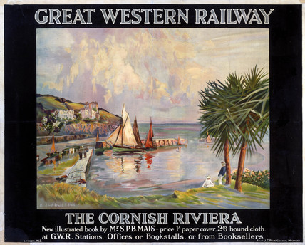 'The Cornish Riviera', GWR poster, 1923-1942.