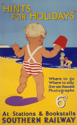'Hints for Holidays', SR poster, 1939.