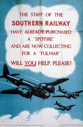 'Will you help, please?', poster, 1939-1945.
