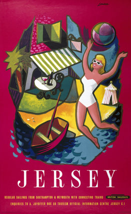 'Jersey', BR poster, 1957.
