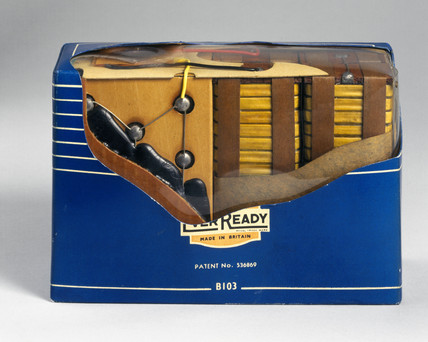 Ever Ready battery, 1957.