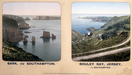 Sark, and Bouley Bay, Jersey, 1910s.