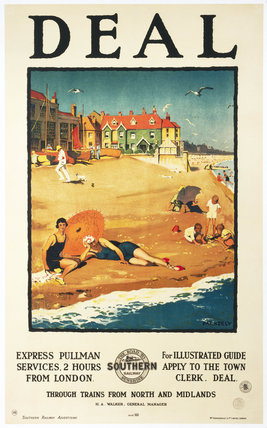 'Deal', SR poster, 1926. Poster produced fo