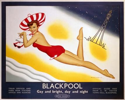 'Blackpool', BR poster, 1960.
